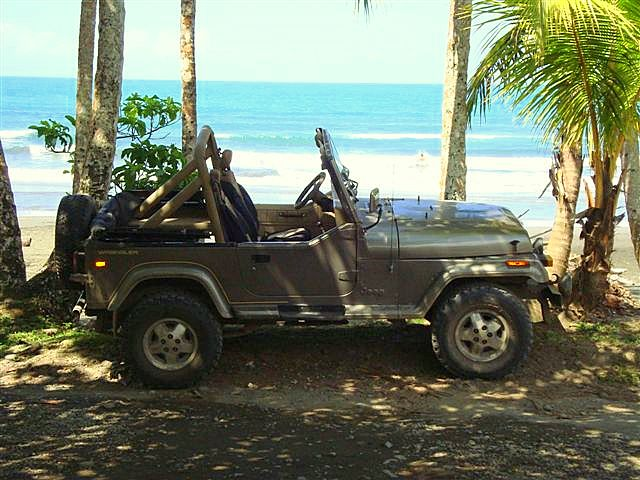 Car Rental Costa Rica Jeep