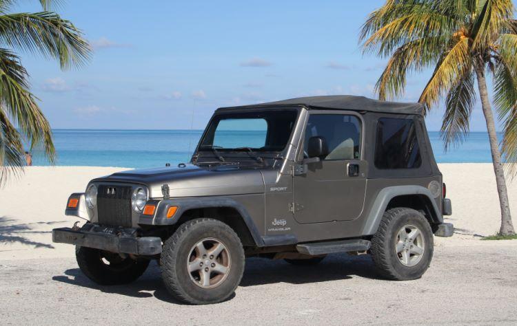 Jeep Car Rental Aruba