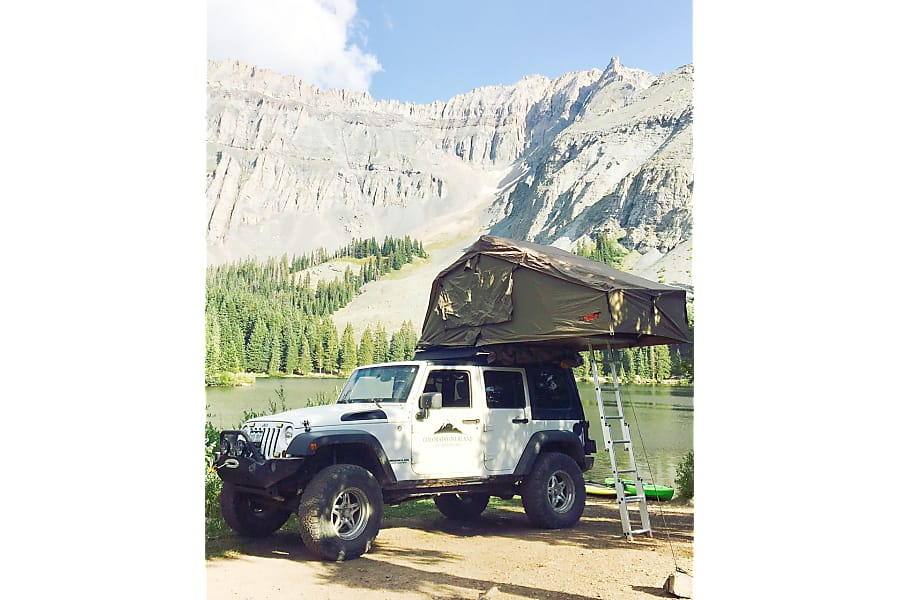 Rental Jeep Rubicon Roof Top Tent Pagosa Springs Co