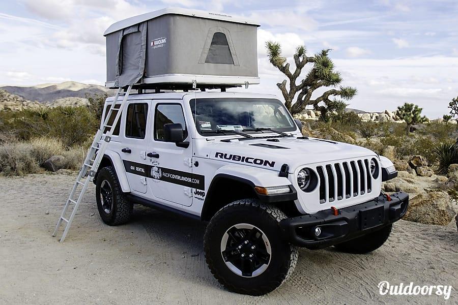 Rental Jeep Wrangler Rubicon San Francisco Ca Jeep